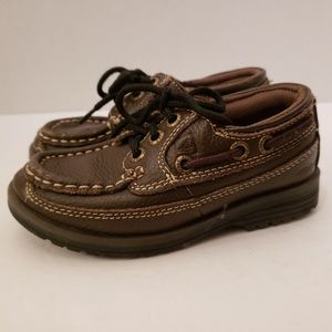 🔥Sperry Mini Boat Lug 3 Eye Toddler Boys Shoe 9.5